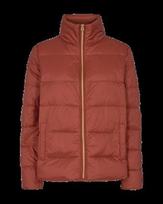 FQTops Ashape jacket brandy brown Freequent
