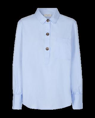 FQFlynn shirt chambray blue Freequent