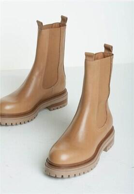 Teo støvle camel Bukela