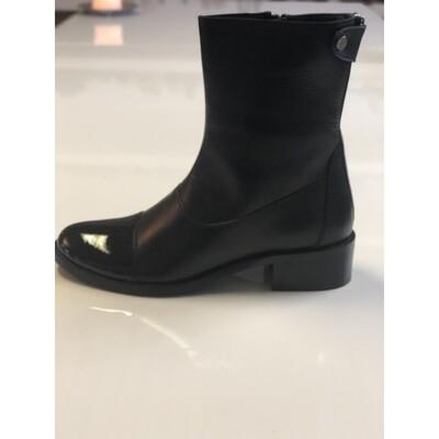 She Patent boots Copenhagen shoes