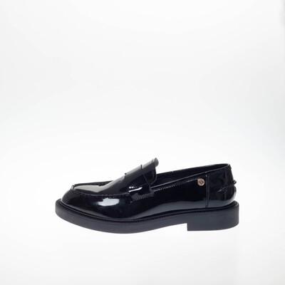 Flavia patent black Copenhagen shoes