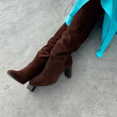 Brave suede Copenhagenshoes By Josefine Valentin