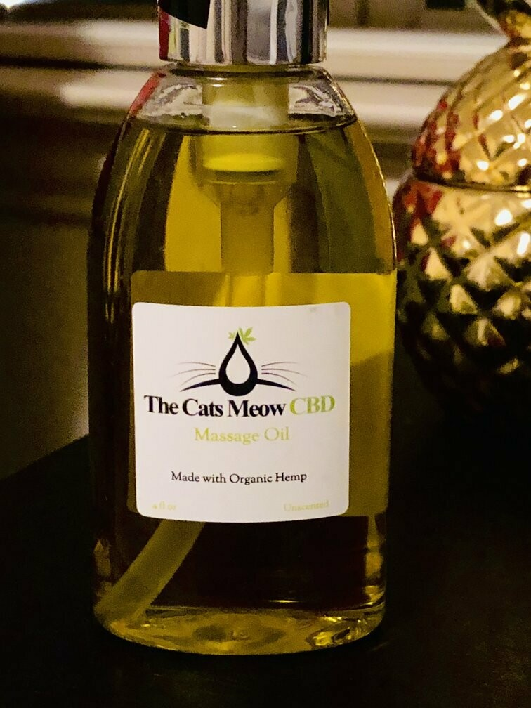 CLEARANCE CBD Massage Oil