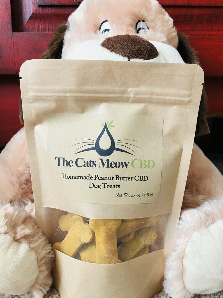 Peanut Butter Bacon CBD Dog Treats