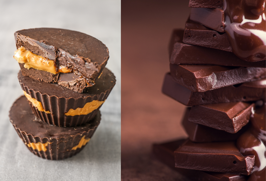 COMING SOON......CBD Chocolate Peanut Butter Cups