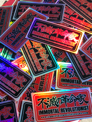 Holographic Logo Stickers -  3