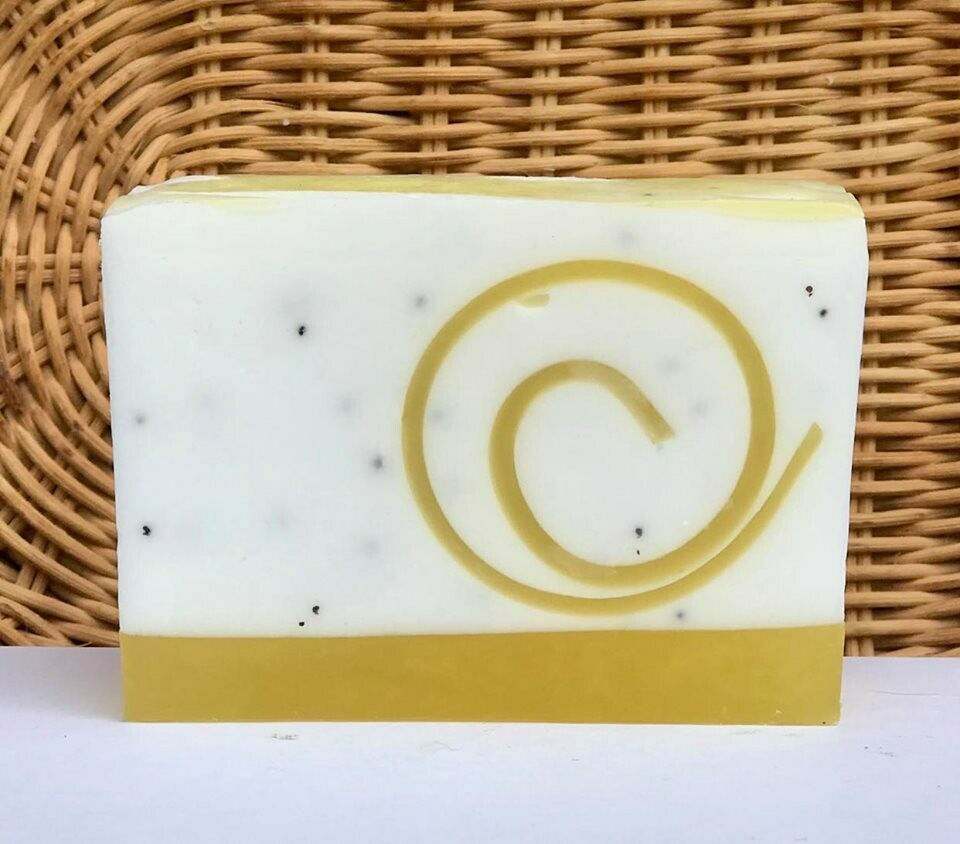Lemon Poppyseed - Glycerin Soap