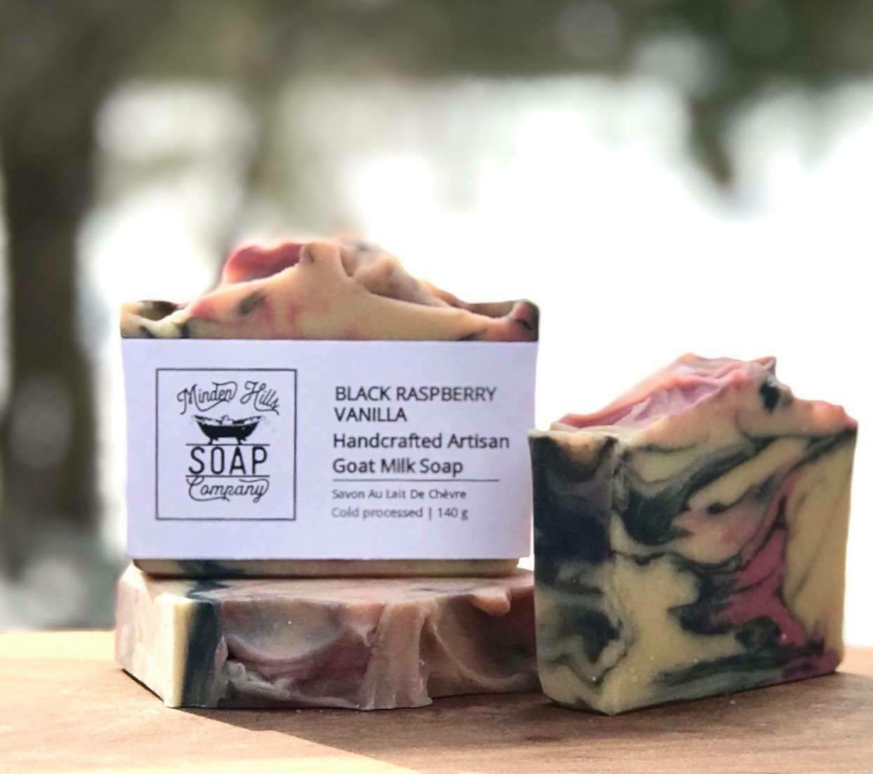 Black Raspberry Vanilla - Goats Milk Soap