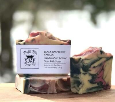 Black Raspberry Vanilla - Goats Milk Soap