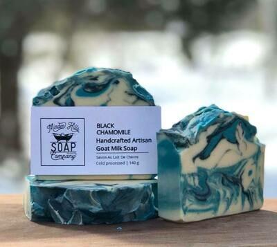 Black Chamomile Goats Milk Soap