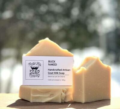Buck Naked - All Natural Goats Milk Soap