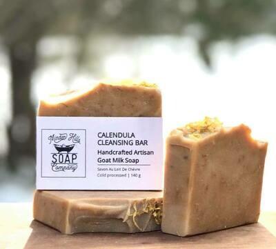 Calendula Cleansing Bar - All Natural Goats Milk Soap