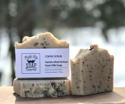 Coffee Scrub - All Natural Goats Milk Soap