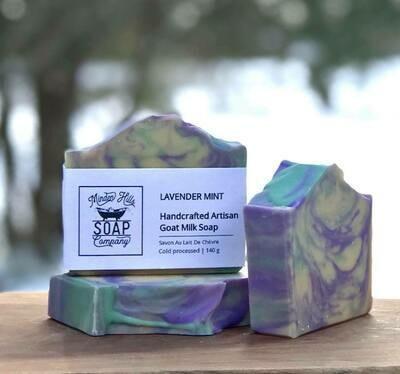 Lavender Mint - Goat Milk Soap