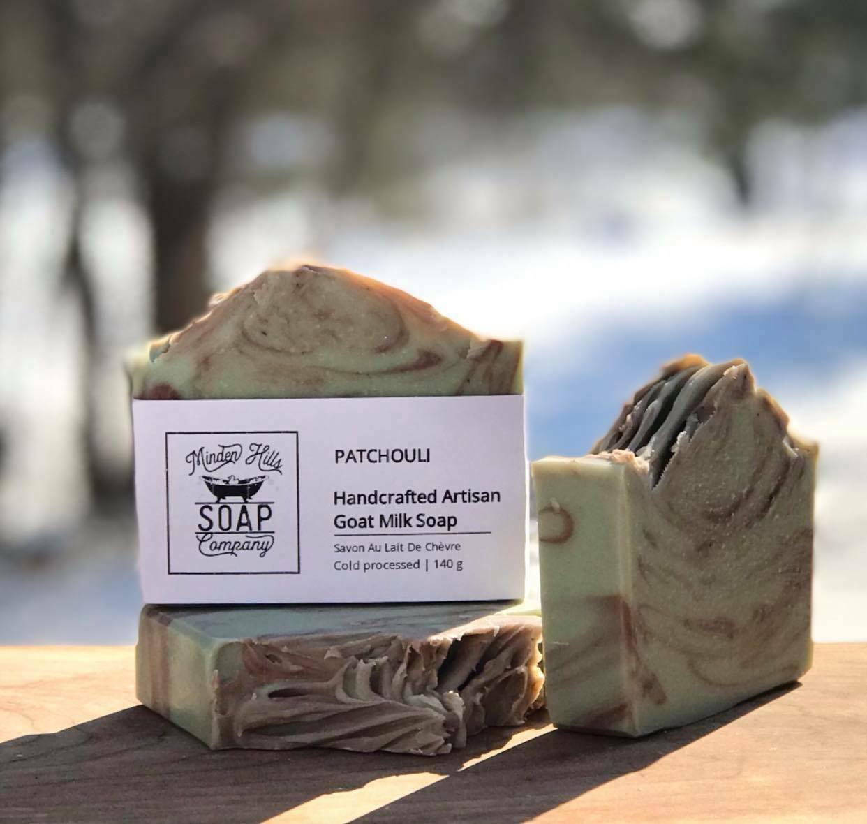Patchouli - Goats Milk Soap