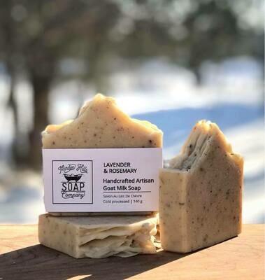 Rosemary Lavender Scrub - All Natural Goats Milk Soap