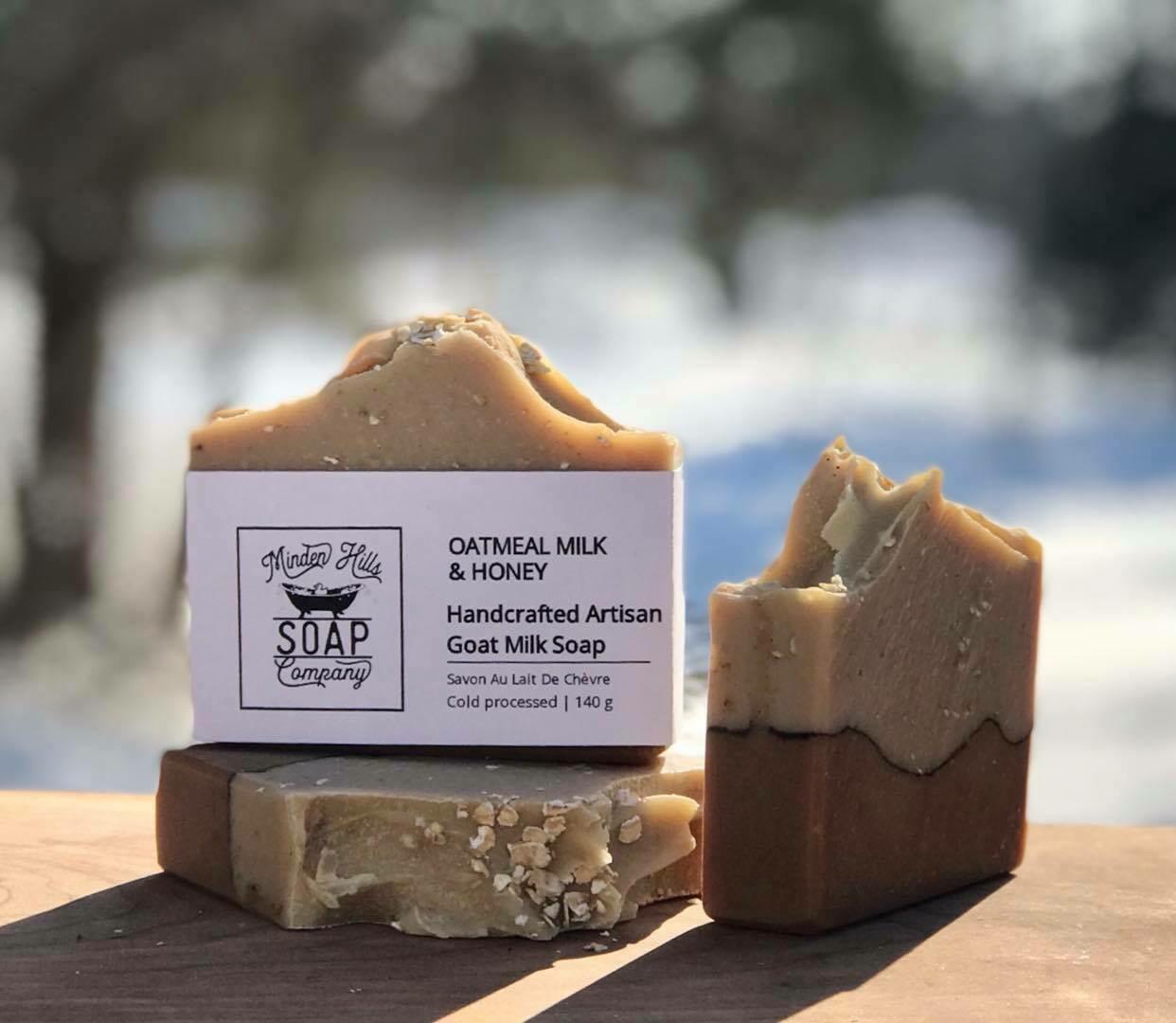 Oatmeal Milk & Honey - Goats Milk Soap