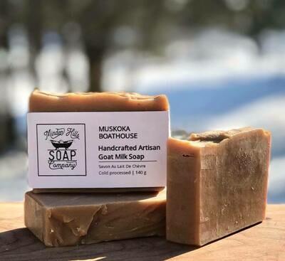 Muskoka Boathouse - Goats Milk Soap
