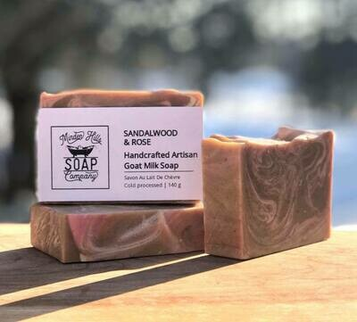 Sandalwood & Rose - Goats Milk Soap