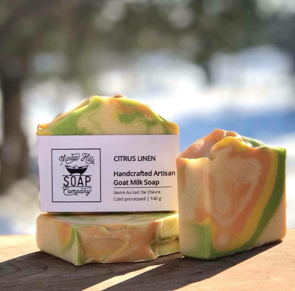 Citrus Linen - Goats Milk Soap