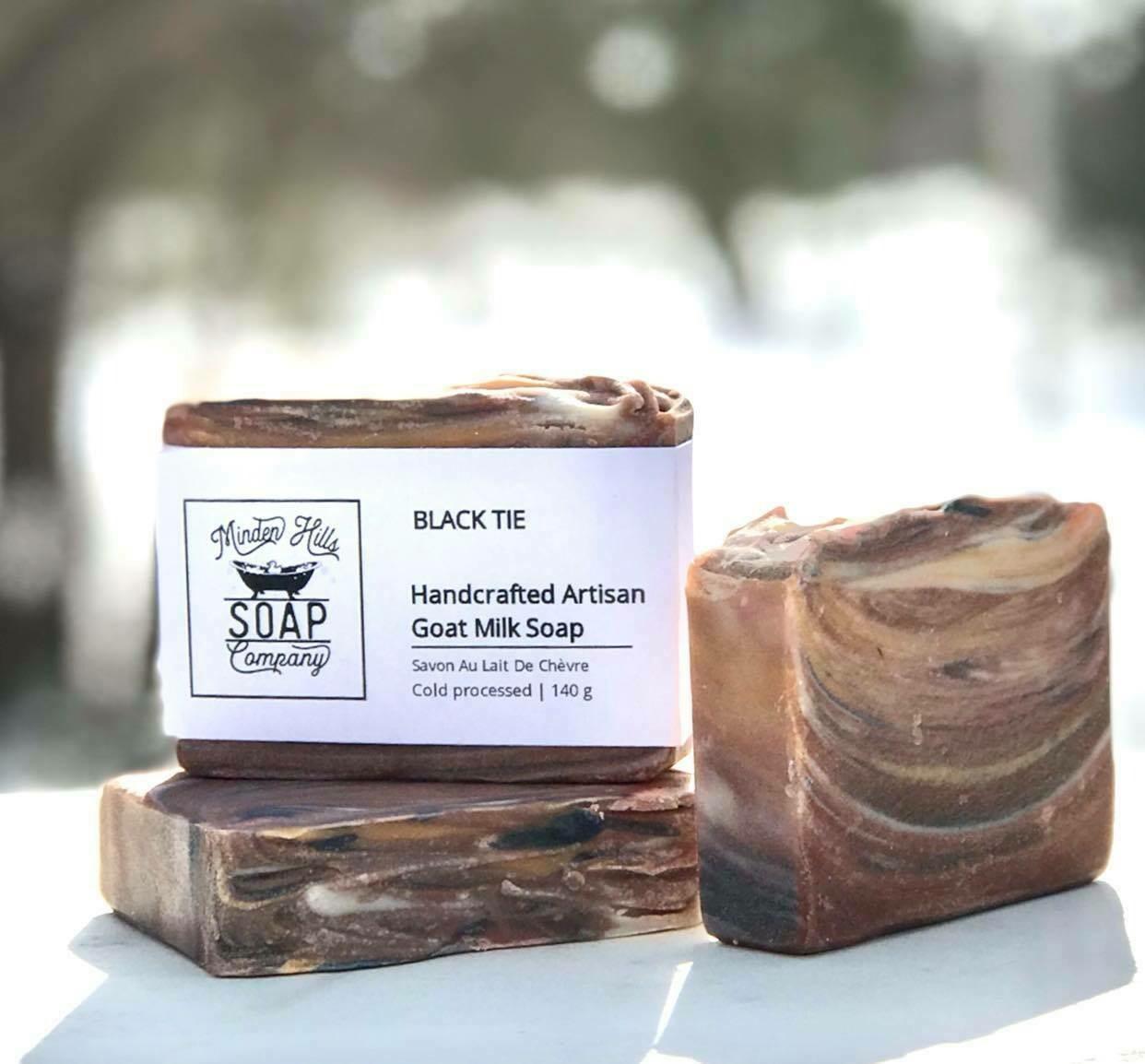Black Tie - Goat Milk Soap