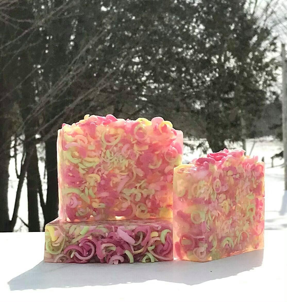 Honeysuckle Blossoms - Glycerin Soap