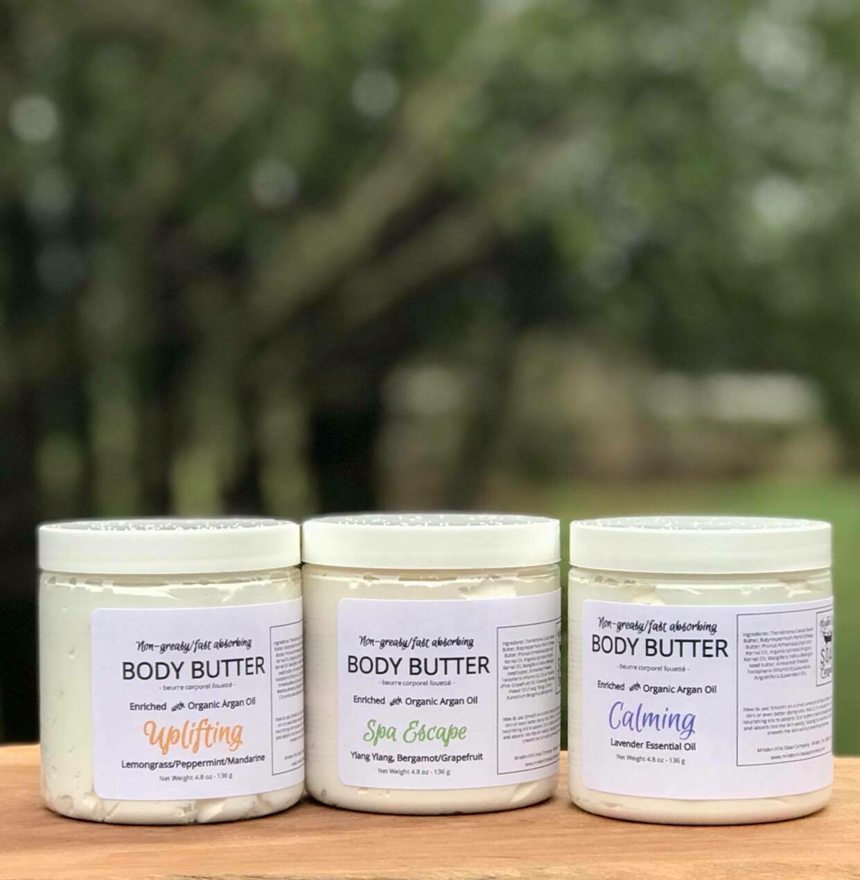 Whipped Body Butter Enriched with Organic Argan Oil