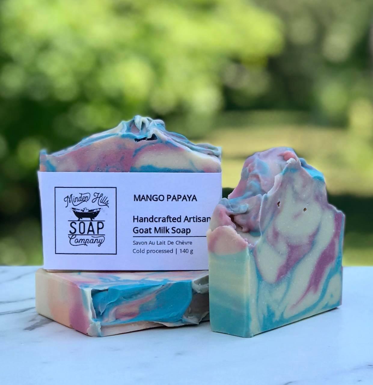 Mango Papaya - Goats Milk Soap
