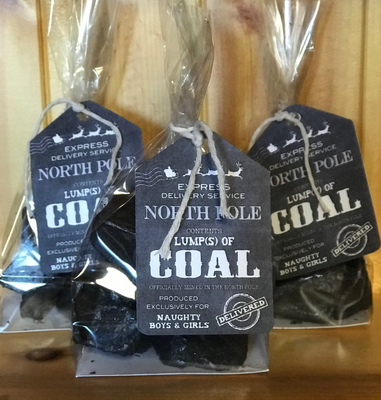 Lumps of Coal - Naughty or Nice?