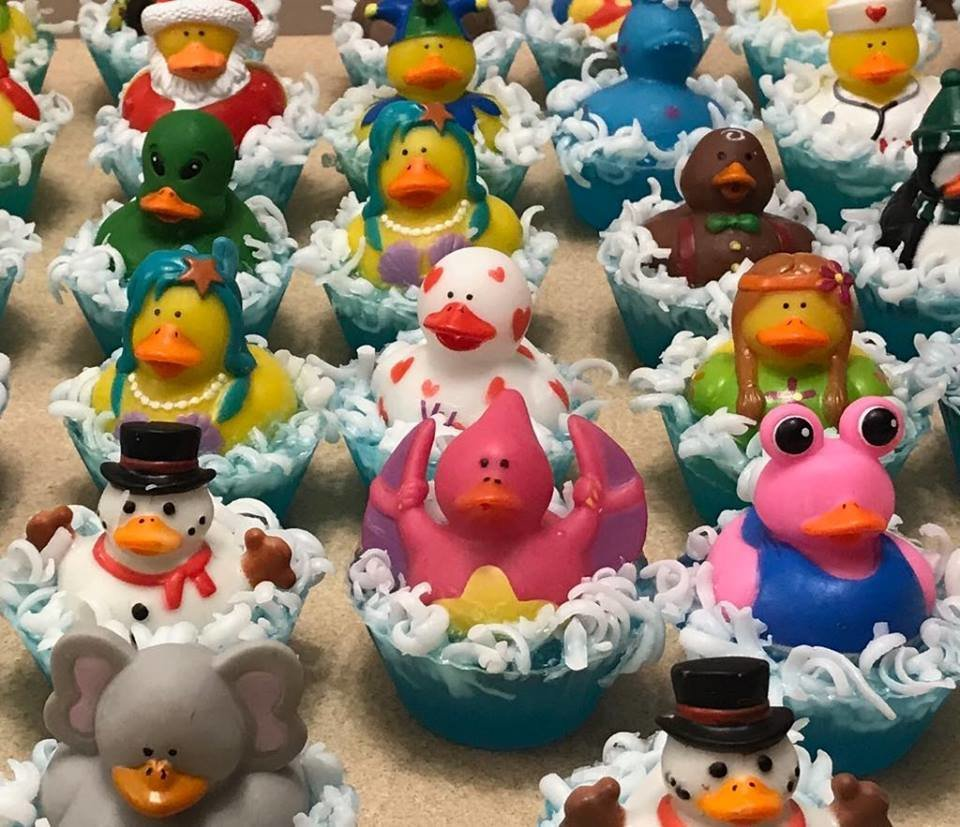 Rubber Ducky Bath Buddy Soaps
