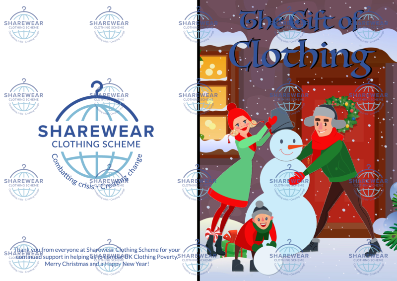 ShareCare Virtual Gift - Family Clothing Card