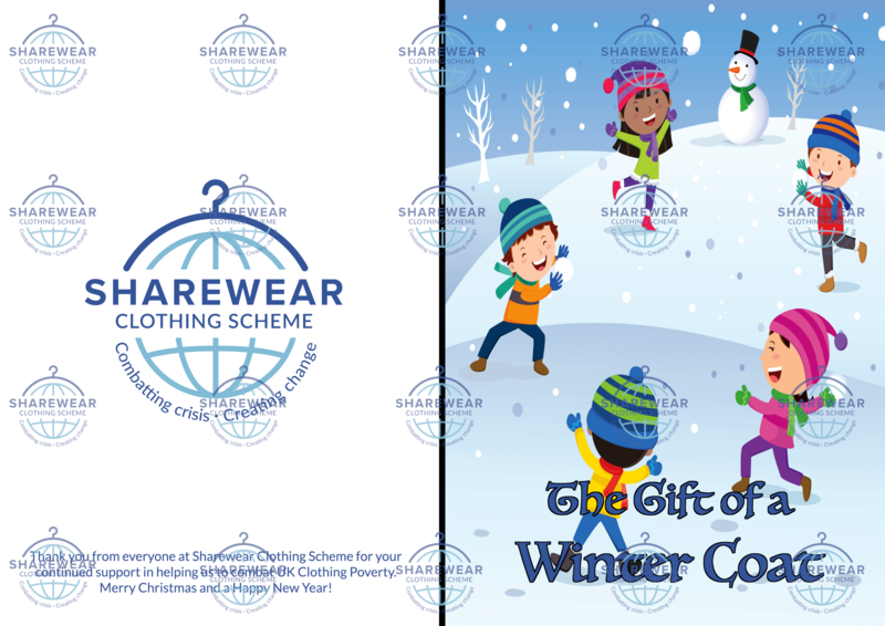 ShareCare Virtual Gift - Winter Coat Card