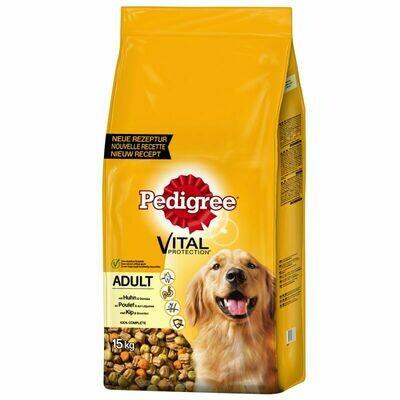 Храна за куче Pedigree Vital Protection Adult пилешко со зеленчук