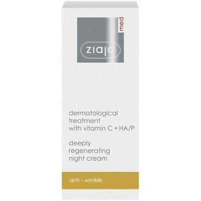 Ziaja MED ноќна крема за лице Витамин Ц