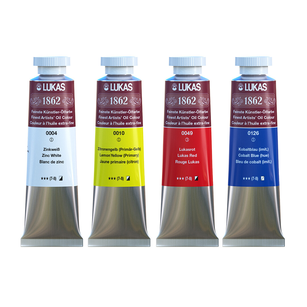 LUKAS 1862 OIL PAINT - MASTER QUALITY 37ml