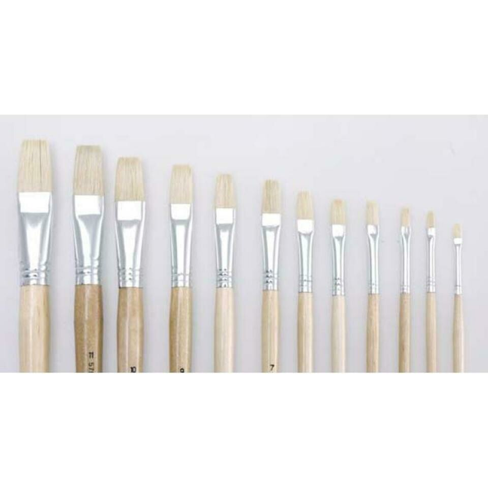 Flat Bristle, Long Handle  Prime Art Series 579 Brushes