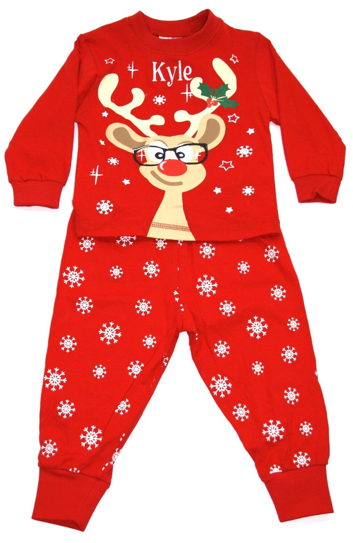 Red Reindeer pyjamas