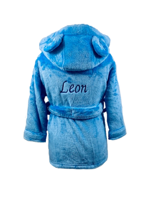 Blue House Coat with ears