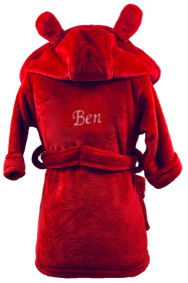 Red House Coat with ears