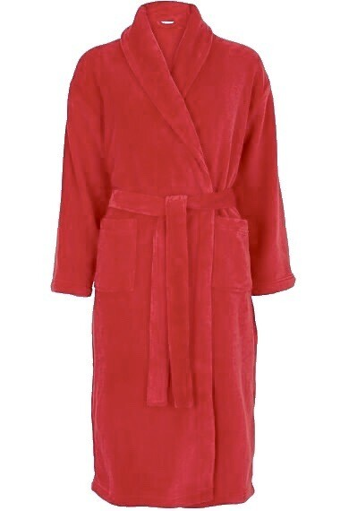Personalised Adult Red House Coat