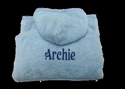 Towelling Baby  bath Robe