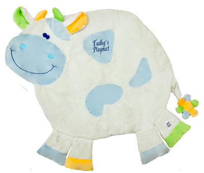 Blue Cow Playmats