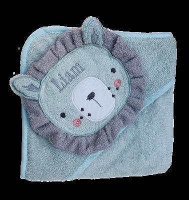 Blue Lion baby bath Towel