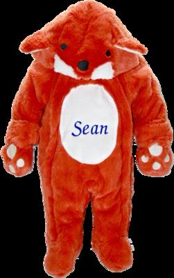 Fox snow suit