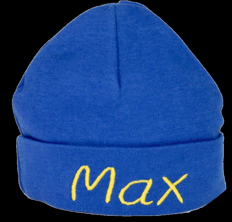 Blue baby hat