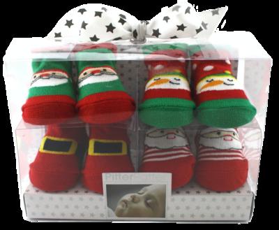 Babies Christmas socks