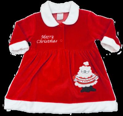Merry Christmas baby dress