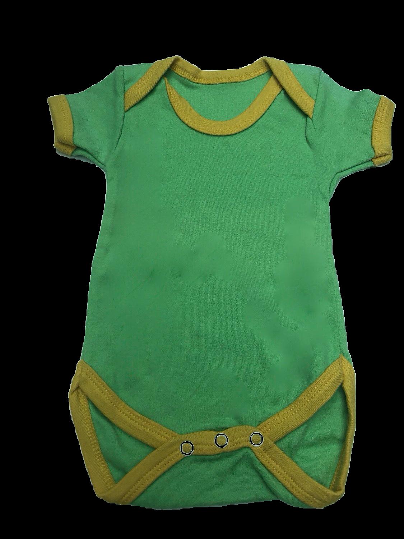 Green & Yellow Trim Vest