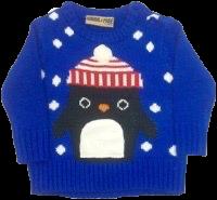 Babies penguin Christmas jumper