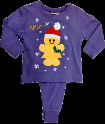 Purple ginger bread pyjamas